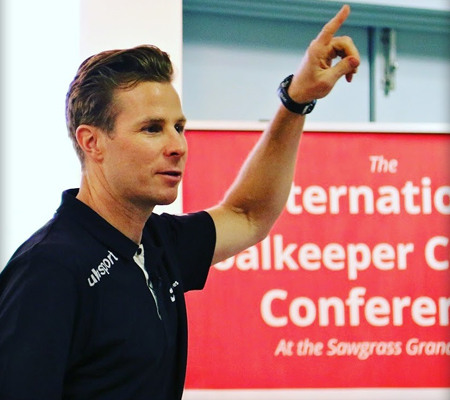 John Cone PhD. presents at International Goalkeeper Coaches Conference