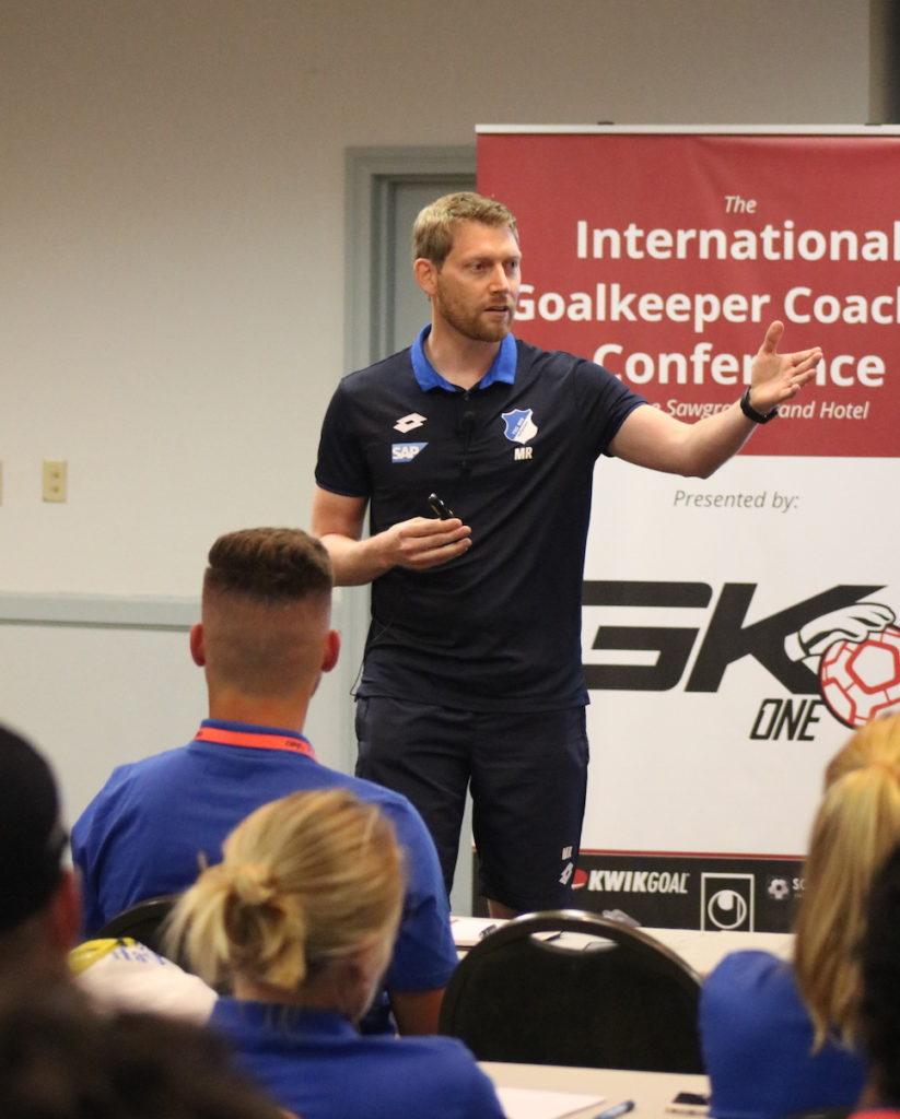 Michael Rechner Goalkeeper Coach